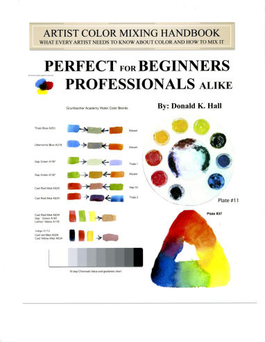 Artist Color Mixing Handbook - What every Artist needs to know about color, paint and how to mix it.
