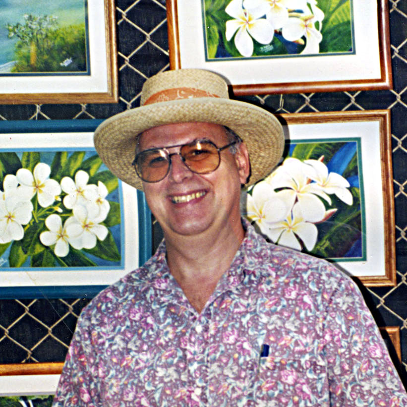 Click to read  Biogrphy of Famous Hawaii Artist, Hawaii Painter Donald K. Hall