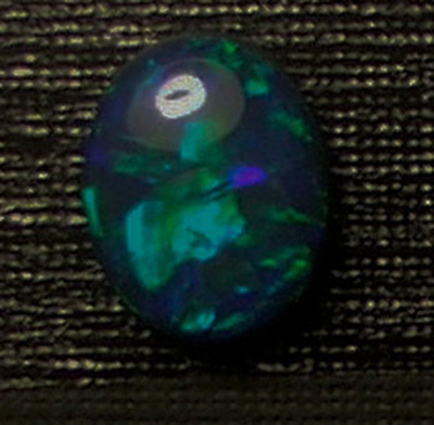 Lightning Ridge Austalian opal Doublet 7.25x9.50mm for sale lot:02