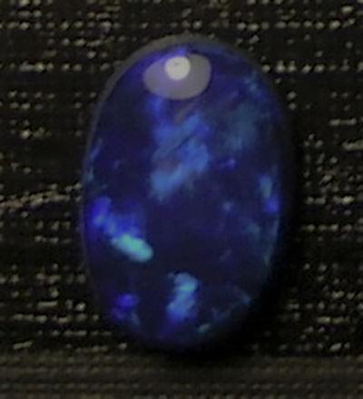 Lightning Ridge Austalian opal Doublet 7x10mm oval for sale lot:09